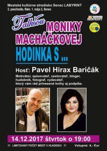 Senec - talkshow Moniky Macháčkovej @ Labyrint | Bratislavský kraj | Slovensko