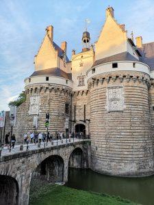 Hrad v centre francúzskeho mesta Nantes