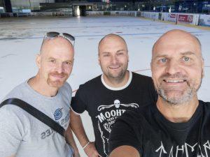"Daniel, Walki a Hirax na ""ľadovej"" ploche v Nantes"
