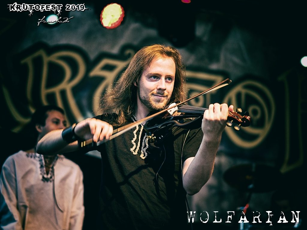 Wolfarian, KrutoFest 2019, Foto: Ivan Farbák